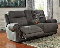 Grey Living Room Chair Austere Oversized Recliner Ashley Furniture Homestore