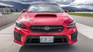 subaru wrx red 2018 subaru wrx and wrx sti first drive review