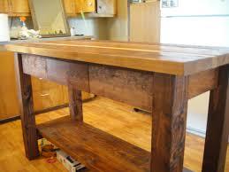 kitchen wood kitchen island within splendid reclaimed wood