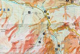 Colorado Springs Trail Map by Trail Map Of Idaho Springs Loveland Pass Colorado 104