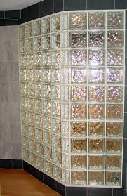 Glass Block Bathroom Ideas Glass Wall Blocks For Bathroom Home Design Ideas