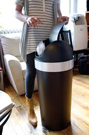 Tall Trash Can by Amazon Com Umbra Venti 16 Gallon Swing Top Kitchen Trash Can