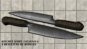 Kitchen Devils Knives Kitchen Knife Retexture At Fallout New Vegas Mods And Community