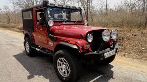 thar jeep white mahindra thar