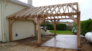 Carport Designs Plans Oak Car Port In Dordogne Oak Timber Framing U0026 Carpentry In