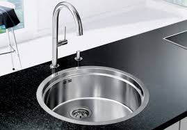 round stainless steel kitchen sink stainless steel round kitchen alluring round sinks kitchen home