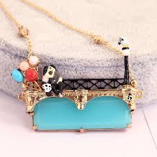 fashion pendant necklace images Les nereides fashion pendant necklaces for ladies enamel beautiful jpg