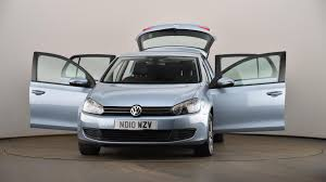 used volkswagen golf 1 4 tsi se 5dr blue nd10wzv cardiff