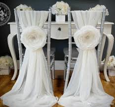 wedding chair covers and sashes 2015 white wedding decorations chair covers sash for weddings with
