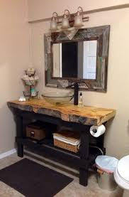 best rustic bathroom vanity u2014 the homy design