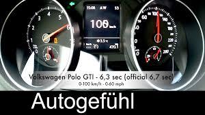 volkswagen polo gti 2016 new volkswagen polo gti acceleration 0 100 u0026 0 200 km h dsg