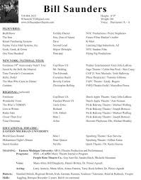 film resume template film production resume template