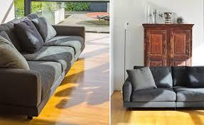 elle 3 seat standard depth sofa hivemodern com