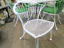 Vintage Woodard Patio Furniture by Woodard Wrought Iron Outdoor Furniture Sets Ebay