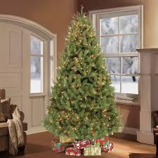 puleo 7 5 ft pre lit colorado spruce artificial tree