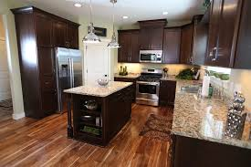 acacia hardwood flooring kitchen traditional with acacia granite