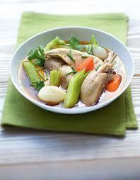cuisiner poule recette de la poule au pot facile