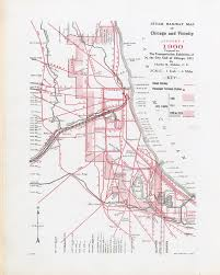 Chicago Train Map by Rail Maps Donnelley And Lee Library Archives And Special