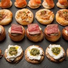 cuisine canapé canapés bon app professional caterers in and around the