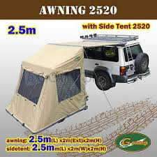 Awning For 4wd G Camp 2520 Awning Side Tent Pop Up Roof Camper Trailer 4wd 4x4