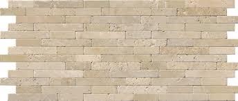 msi chiaro tumbled veneer travertine staggered tile in beige wayfair