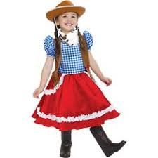 Cowgirl Halloween Costume Toddler Girls Western 4 6 Cowgirl Costume Hat Halloween Costume