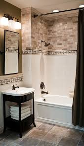 shower tile ideas small bathrooms 29 ideas to use all 4 bahtroom border tile types digsdigs