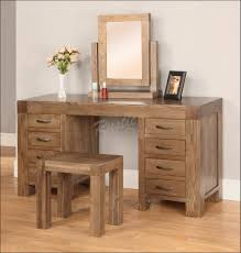 bedroom hardwood dressing table dressing table with lights on