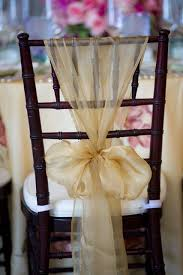 wedding chair bows charming ideas chair sash chair sashes and wedding decor living room