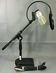 mxl 990 condenser microphone w proline desk boom mic stand