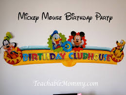 mickey mouse clubhouse centerpieces mickey mouse clubhouse luau birthday party teachable