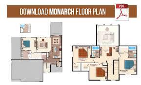 Monarch Homes Floor Plans Monarch Lifestyle Custom Homes