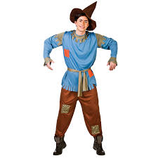 adults mens scarecrow straw man fancy dress up party halloween