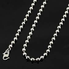 white gold bead necklace images White bead necklace all collections of necklace jpg
