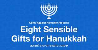 hanukkah gift cards cards against humanity s eight sensible gifts for hanukkah