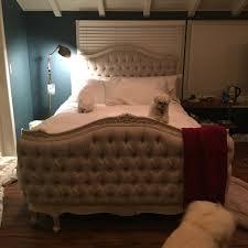 Tufted Bed Frame Queen Furniture Splendid Ideas Of Tufted Bed Frame Queen Showing Modern