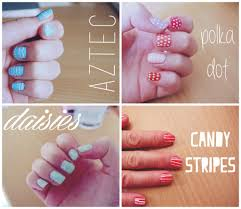 easy nail art for beginners 5 youtube very easy cute nail designs