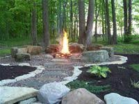 Backyard Firepit Ideas by Diy Fire Pit And Seating Area Outdoor Fire Walkways And House