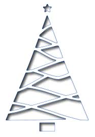 frantic stamper precision dies reverse cut triangle christmas