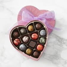 heart chocolate knipschildt heart chocolate box small williams sonoma