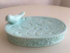 Shabby Chic Soap Dish by Large Whale Butter Dish White Shoreline Summer Cottage Shabby Chic