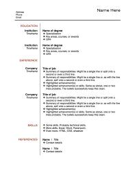 resume bullet points resume layout