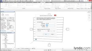 revit coordinates tutorial specifying coordinates at a point