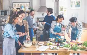 cours cuisine cours de cuisine en amoureux cooking lesson in