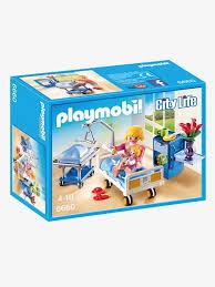 chambre bébé playmobil 6660 chambre de maternité playmobil city multicolore playmobil