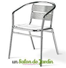 chaise jardin aluminium à couper le souffle intérieur designs à chaise jardin aluminium