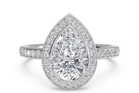 teardrop diamond ring finding the right diamond shape ritani
