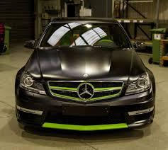 green mercedes a class mercedes c class 204 c63 amg orange u0026 green leather seats trim