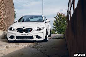 bmw m3 stanced a slammed alpine white bmw m2 with carbon fiber goodies by ind