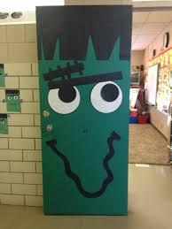 frankenstein door for halloween bulletin boards and door